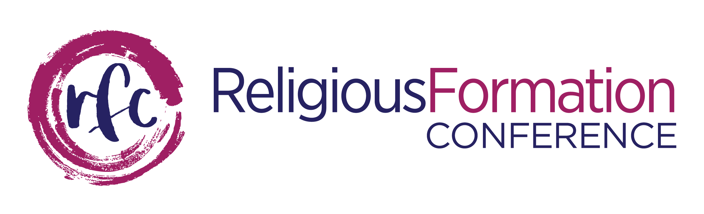 Religious Formation Conference Logo rfc inside circle